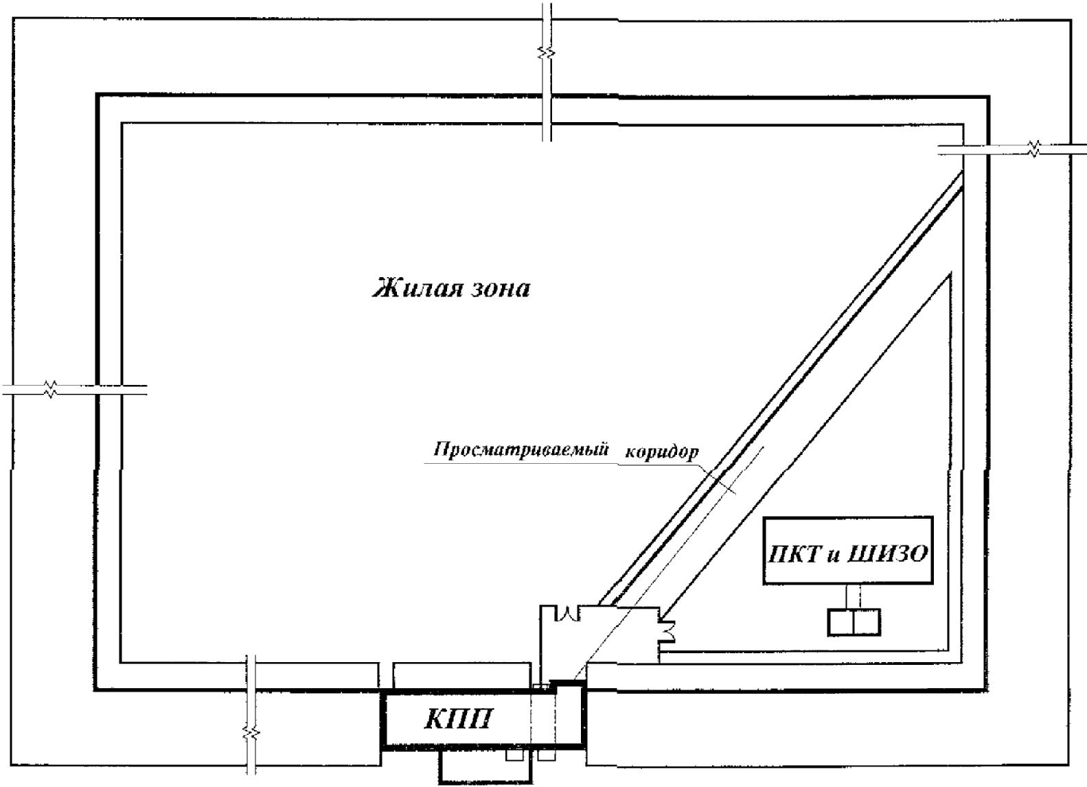 Расположение подпорного вентилятора на лестничной клетке
