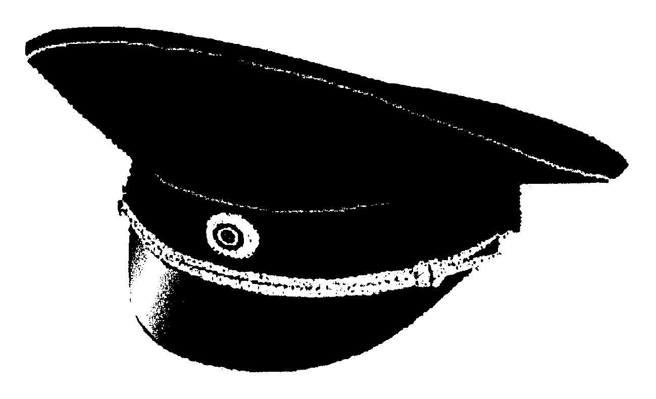 Фуражка рисунок вектор