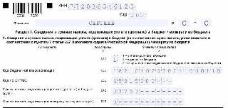 Образец раздела 1 в 3-НДФЛ